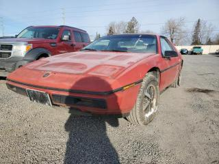 Used 1984 Pontiac Fiero SE for sale in Stittsville, ON