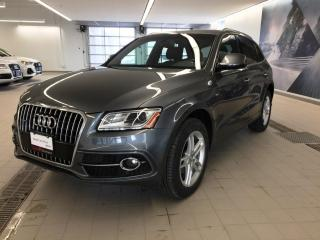 Used 2016 Audi Q5 2.0T Progressiv + Pano Roof | S Line | Nav for sale in Whitby, ON