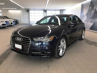 Used 2016 Audi A6 2.0T Technik + LED | Driver Assist | S Line for sale in Whitby, ON