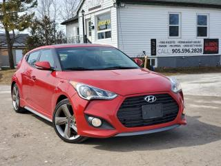 Used 2013 Hyundai Veloster 1Owner NoAccidents Manual Pano Nav Blth Leather Heated seats for sale in Sutton, ON