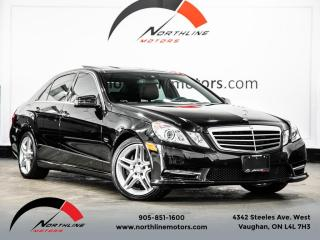 Used 2013 Mercedes-Benz E-Class E350 4MATIC|AMG Sport|Navigation|Pano|Lane Keep|Blindspot for sale in Vaughan, ON