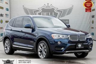 Used 2016 BMW X3 xDrive28i, AWD, NO ACCIDENT, NAVI, HEADS-UP, REAR CAM for sale in Toronto, ON