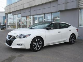 Used 2016 Nissan Maxima SL /leather/Dual Sunroof/Navigation/Back up Camera/ Blind Spot indicator/Push Start for sale in Mississauga, ON