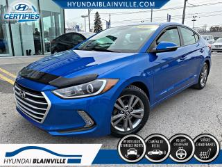 Used 2017 Hyundai Elantra GL APPLE CARPLAY, MAGS, BLUETOOTH, BANCS for sale in Blainville, QC