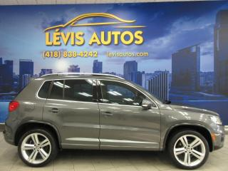Used 2016 Volkswagen Tiguan R-LINE 4MOTION GPS TOIT PANO CAMERA 9290 for sale in Lévis, QC