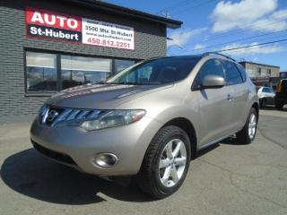 Used 2010 Nissan Murano AWD S for sale in St-Hubert, QC