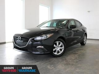 Used 2016 Mazda MAZDA3 GX CLIMATISEUR + CAMERA + BLUETOOTH+++ for sale in St-Jean-Sur-Richelieu, QC