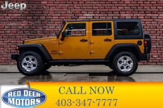 Used 2014 Jeep Wrangler UNLIMITED 4X4 SPORT for sale in Red Deer, AB
