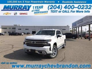 New 2020 Chevrolet Silverado 1500 High Country for sale in Brandon, MB