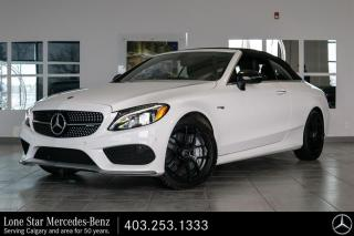 Used 2017 Mercedes-Benz C43 AMG 4MATIC Cabriolet for sale in Calgary, AB