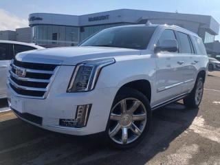New 2020 Cadillac Escalade Premium Luxury for sale in Winnipeg, MB