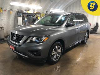 Used 2018 Nissan Pathfinder 7 Passenger * 4X4 * Reverse camera with park assist * Forward Collision Mitigation * Downhill assist * Heated mirrors * Power drivers seat * Push butt for sale in Cambridge, ON
