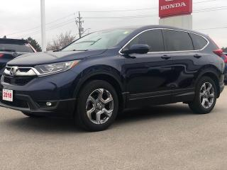 Used 2018 Honda CR-V EX REMOTE ENGINE STARTER | APPLE CARPLAY™ & ANDROID AUTO™ | HONDA LANEWATCH BLIND SPOT CAMERA for sale in Cambridge, ON