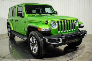 Used 2019 Jeep Wrangler UNLIMITED SAHARA 4WD TOIT ELECTRIQUE MAG for sale in St-Hubert, QC