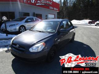 Used 2008 Hyundai Accent L manuel for sale in St-Prosper, QC