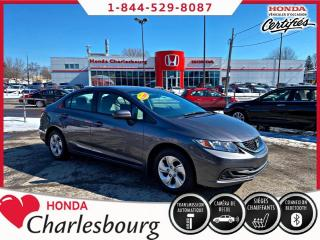 Used 2015 Honda Civic LX AUTOMATIQUE**BAS KM** for sale in Charlesbourg, QC