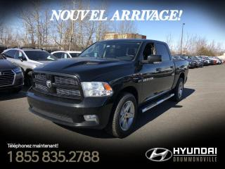 Used 2012 RAM 1500 SPORT + 5.7L HEMI + GARANTIE !! for sale in Drummondville, QC