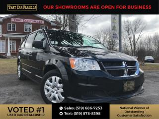 Used 2017 Dodge Grand Caravan CVP/SXT StowNGo-Cruise-Pwr Windows/Locks-7 Pass for sale in London, ON