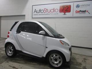 Used 2015 Smart fortwo SIÈGES CHAUFFANTS**CAMERA RECUL**NAVI for sale in Mirabel, QC