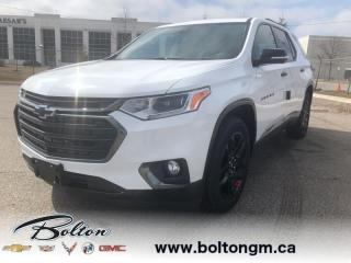 New 2020 Chevrolet Traverse Premier - 1NX56 for sale in Bolton, ON