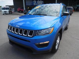 Used 2018 Jeep Compass Sport,4x4,BAS KM,BLUET,CRUISE,A/C,BANC/VOL.CHAUF. for sale in Mirabel, QC