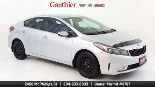 Used 2017 Kia Forte EX 4dr., 4Cyl., Auto Trans, Heated Seats, Rear Cam for sale in Winnipeg, MB