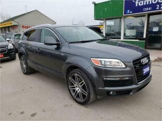 Used 2008 Audi Q7 4.2L for sale in Winnipeg, MB