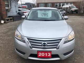 Used 2013 Nissan Sentra SV for sale in Hamilton, ON