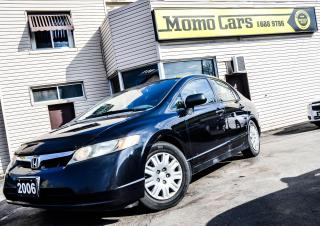 Used 2006 Honda Civic Manual! AM/FM! Reliable! for sale in St. Catharines, ON