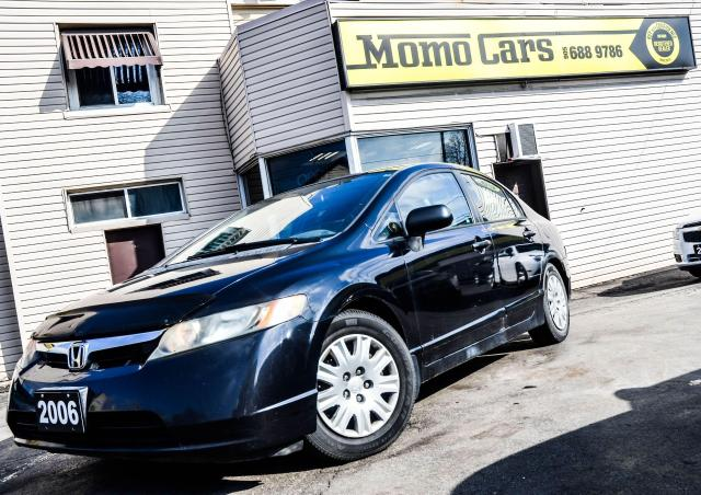 2006 Honda Civic Manual! AM/FM! Reliable!
