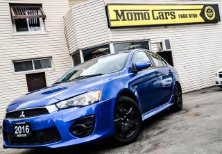 Used 2016 Mitsubishi Lancer Accident Free! Heated Seats! Great deal! for sale in St. Catharines, ON