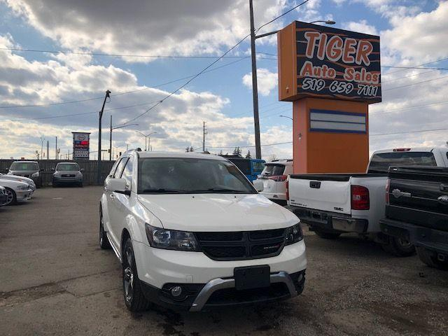 2015 Dodge Journey Crossroad**7 PASS**ONLY 101KM*NAVI**CAM**CERTIFIED
