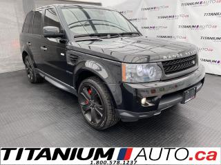 Used 2011 Land Rover Range Rover Sport SuperCharged+HSE+GPS+Camera+4X4 for sale in London, ON