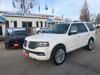 Used 2015 Lincoln Navigator Eco boost -4x4-NAVI-WE FINANCE for sale in Stoney Creek, ON