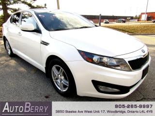 Used 2013 Kia Optima LX - 6 Speed Manual for sale in Woodbridge, ON