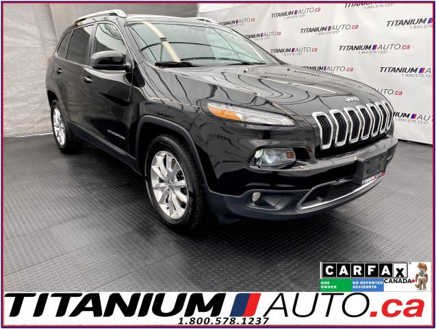2016 Jeep Cherokee Limited+V6+4x4+GPS+Pano Roof+Cooled Seats+Camera+