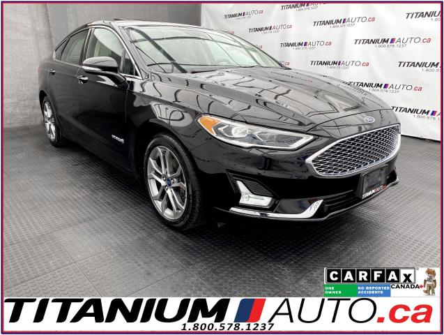 2019 Ford Fusion Hybrid Titanium+GPS+Blind Spot+Lane Assist+Cooled Leather