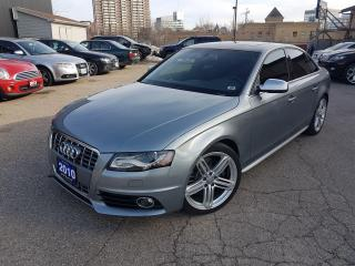 Used 2010 Audi S4 Premium Dynamic for sale in Kitchener, ON