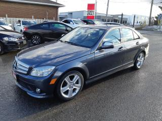 Used 2009 Mercedes-Benz C300 3.0L, 4MATIC, ACCIDENT FREE, NAVIGATION,, SUNROOF for sale in Ottawa, ON