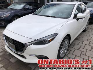 Used 2017 Mazda MAZDA3 NAV,BACKUP CAM,LEATHER,SUNROOF !!! for sale in Toronto, ON
