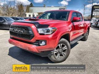 Used 2017 Toyota Tacoma SR5 TRD Sport  NAVI  PRO GRILL  STEP BARS  TONNEAU for sale in Ottawa, ON