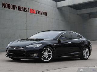 Used 2014 Tesla Model S 85, Sunroof,  Sub Zero, Smart Susp, Pwr Hatch, EV for sale in Mississauga, ON