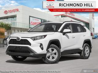 New 2020 Toyota RAV4 XLE  - Sunroof - $105.96 /Wk for sale in Richmond Hill, ON