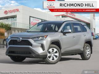 New 2020 Toyota RAV4 LE  - Heated Seats - $94.43 /Wk for sale in Richmond Hill, ON