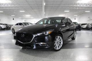 Used 2017 Mazda MAZDA3 GT I NAVIGATION I REAR CAM I LEATHER I SUNROOF I HEATED SEAT for sale in Mississauga, ON