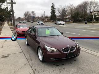 Used 2008 BMW 5 Series 535i E60 Sedan, Rare Color, Back-up Sensors, Mint Condition for sale in Toronto, ON