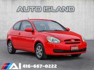 Used 2009 Hyundai Accent 3DR HB for sale in North York, ON