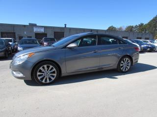 Used 2013 Hyundai Sonata LEATHER SUNROOF BLUETOOTH CERTIFIED 2YR WARRANTY *1 OWNER* ALLOYS AUX for sale in Milton, ON