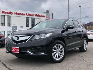 Used 2018 Acura RDX Premium - Leather - Sunroof -  Rear Camera for sale in Mississauga, ON