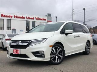 Used 2018 Honda Odyssey Touring - Leather - Navigation - Fully equipped!!! for sale in Mississauga, ON